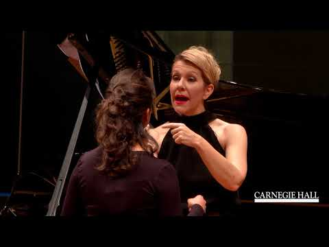 "Joyce DiDonato Master Class January 2016: Mozart's ""Porgi am"