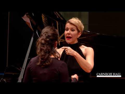 "Joyce DiDonato Master Class January 2016: Mozart's ""Porgi amor"" from Le nozze di Figaro"