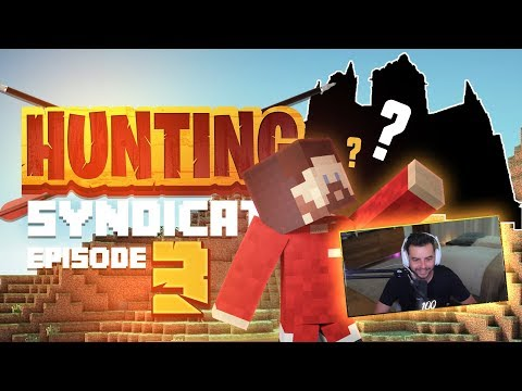 MY BRAND NEW SECRET MOUNTAIN BASE!! (Hunting Syndicate Minecraft Series) - Ep.3