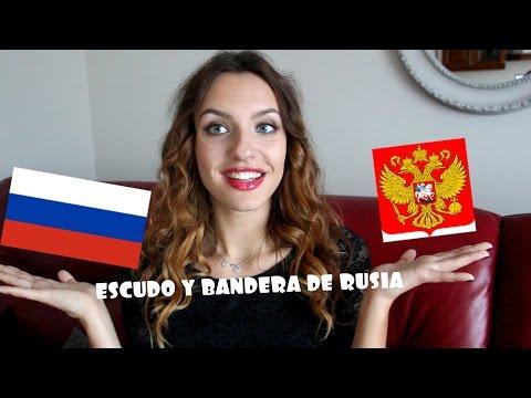 ESCUDO Y BANDERA DE RUSIA