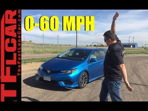 2017 Toyota Corolla iM 0-60 MPH Review