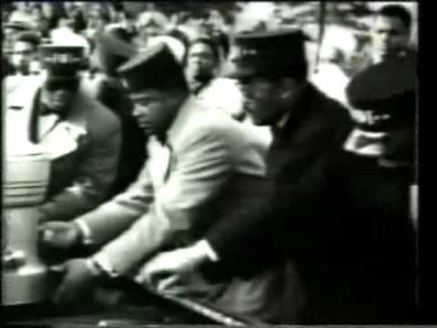 Malcolm x and W. Deen Muhammad son of  Elijah Muhammad