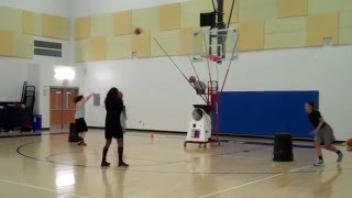 Basketball skill development on 8000 Series Gun