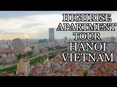 $700 3 Bedroom PENTHOUSE VIETNAM Apartment TOUR - SERVICED APARTMENTS IN HANOI