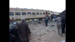 حادث انقلاب قطار مطروح