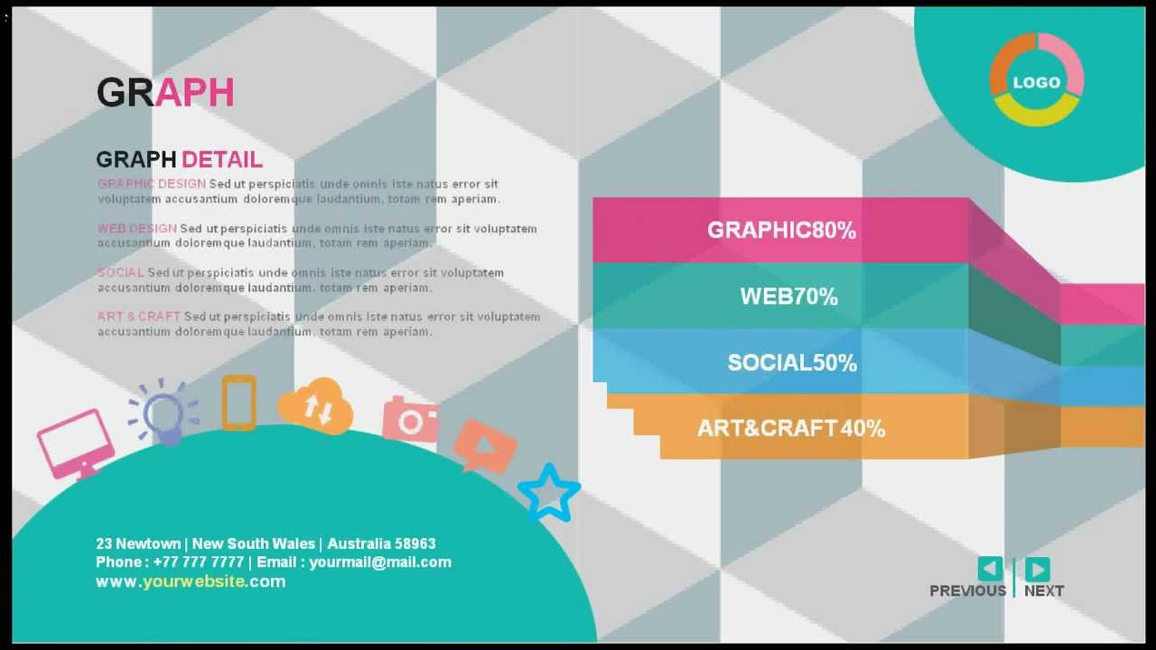 Gstudio Creative CV Presentation Template YouTube