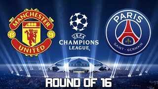 MANCHESTER UNITED X PSG 12/02/2019 | UEFA CHAMPIONS LEAGUE 2019 [PES 2019]