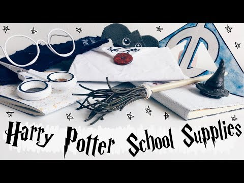 DIY Harry Potter School Supplies 2018 ? 10 Crafts & Organisation Ideas for Back to School    Adela