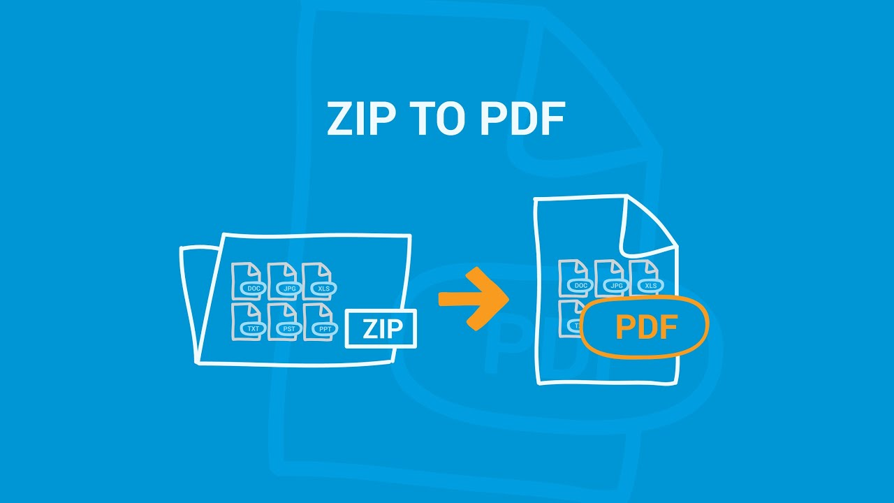 zip to pdf converter online free
