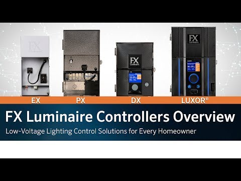 fx-luminaire-controllers-overview:-low-voltage-lighting-control-solutions-for-every-homeowner
