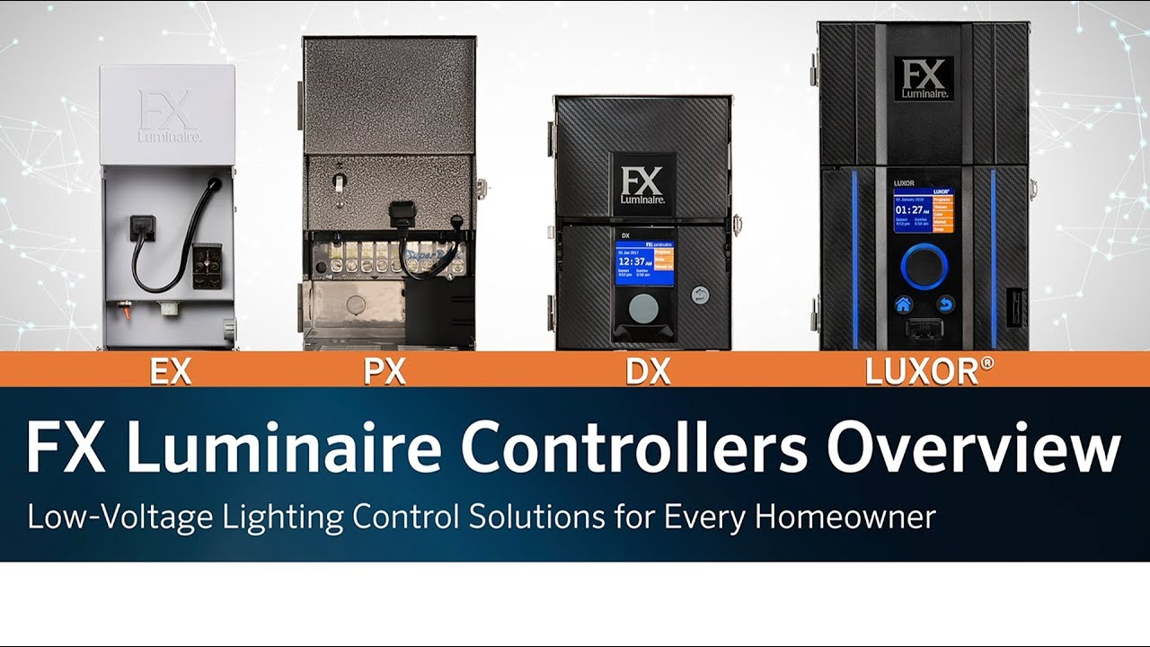 Fx Luminaire Controllers Overview Low Voltage Lighting Control Solutions For Every Homeowner