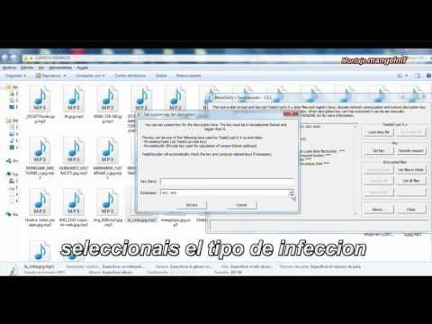 Recuperar archivos dañados por RANSOMWARE (también extension mp3)