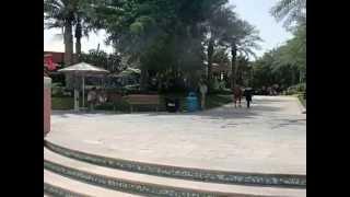 Palm Jumeirah Public Beach of Aquaventure Waterpark in Atlantis The Palm Resort
