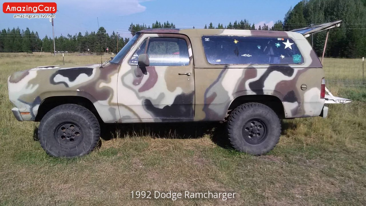ride modification ramcharger large specs photos dodge