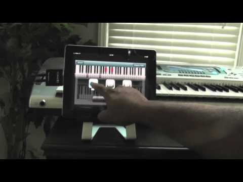 iPhone Piano Visual ChordPad - Takes Notes While You Create