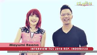 Mayumi Reena Tokyo Game Show 2018 Indonesia Representative Cosplay