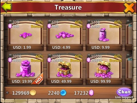 Game Castle Clash Guide: When To Buy Gems?