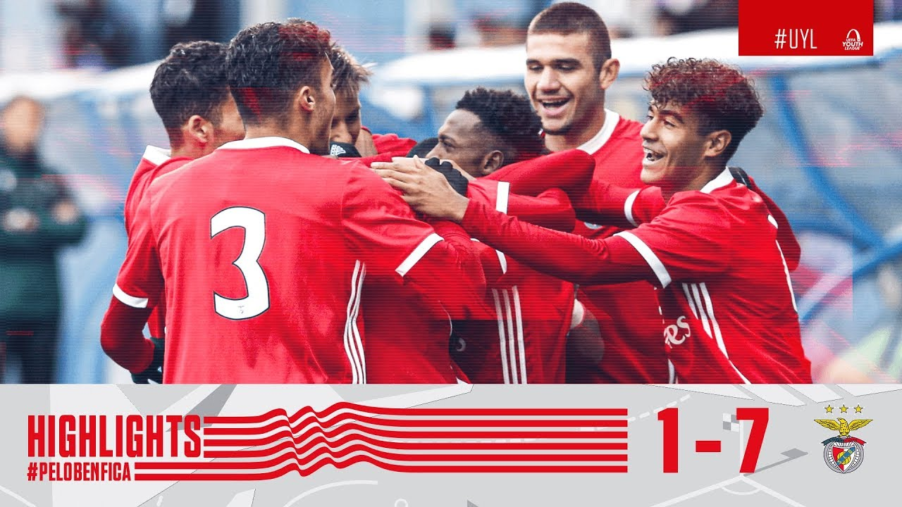 Highlights Youth League Fc Zenit 1 7 Sl Benfica Youtube