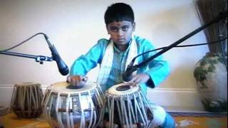 Tabla solo Taal Tritaal by Sachet Amin. Swarnaad School Of Indian Music, Atlanta, GA