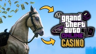 GTA Online Casino DLC Update - HORSE RACE BETTING COMING? Leaked Game Files Indicate It Might Happen