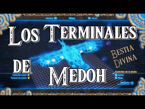 Guía BOTW: MEDOH, Activar los terminales   The Legend of Zelda: Breath of the Wild   Kkey