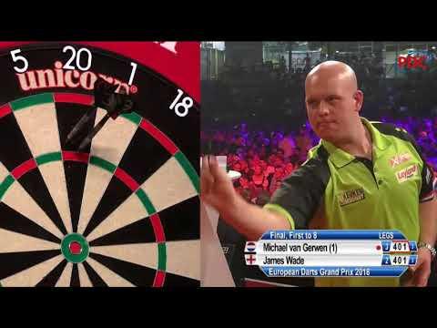 Michael van Gerwen vs James Wade European Darts Grand Prix Final