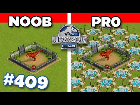 ARE YOU PRO OR ARE YOU NOOB?!? | Jurassic World - The Game - Ep409 HD