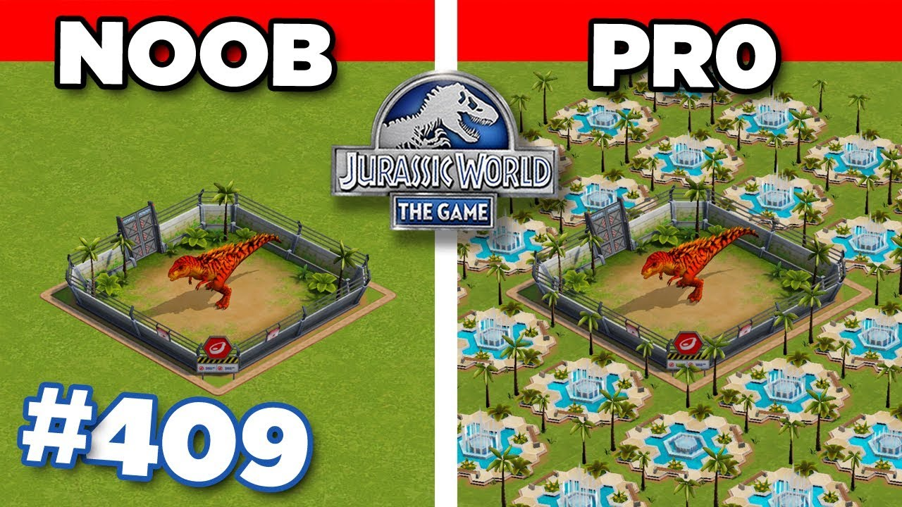 ARE YOU PRO OR ARE YOU NOOB?? Jurassic World - The Game