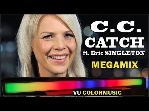 C.C. CATCH Ft. Eric SINGLETON - Megamix 2019 Long Version / VU-Цветомузыка V2.2 / VU-Meter