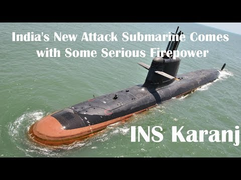 India's New Attack Submarine Comes with Some Serious Firepower