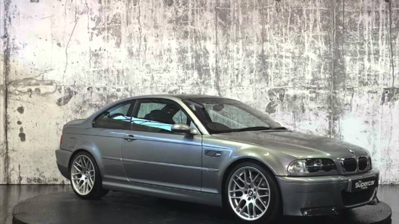 Bmw E46 M3 Csl For Sale Only 2600 Miles Youtube