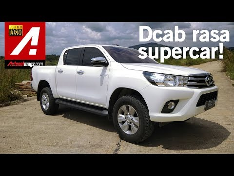 Toyota Hilux 4x4 Review & Test Drive by AutonetMagz