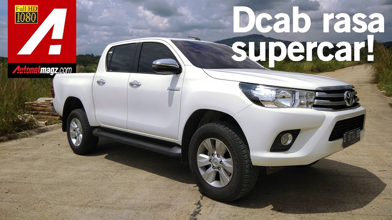 Toyota Hilux 4x4 Review Test Drive By Autonetmagz Youtube