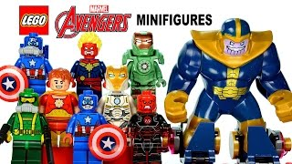 LEGO® Avengers Iron Skull Sub Attack & Avenjet Space Mission Minifigures w/ Iron Man Captain America