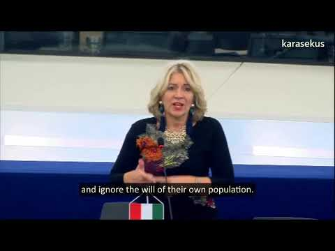 Hungarian MEP Krisztina Morvai: Hungary and Poland are being punished