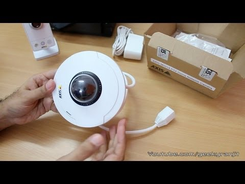 Axis IP Camera M1054 & M5014 PTZ Unboxing / Overview