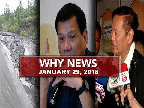 UNTV: Why News (January 29, 2018)