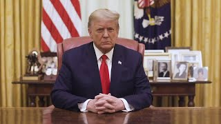 Video Message from President Donald J. Trump 1/13/21
