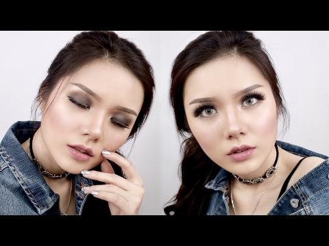 ELF | One Brand Makeup Tutorial | Smokey Eye (INDONESIA) | Christine Sindoko