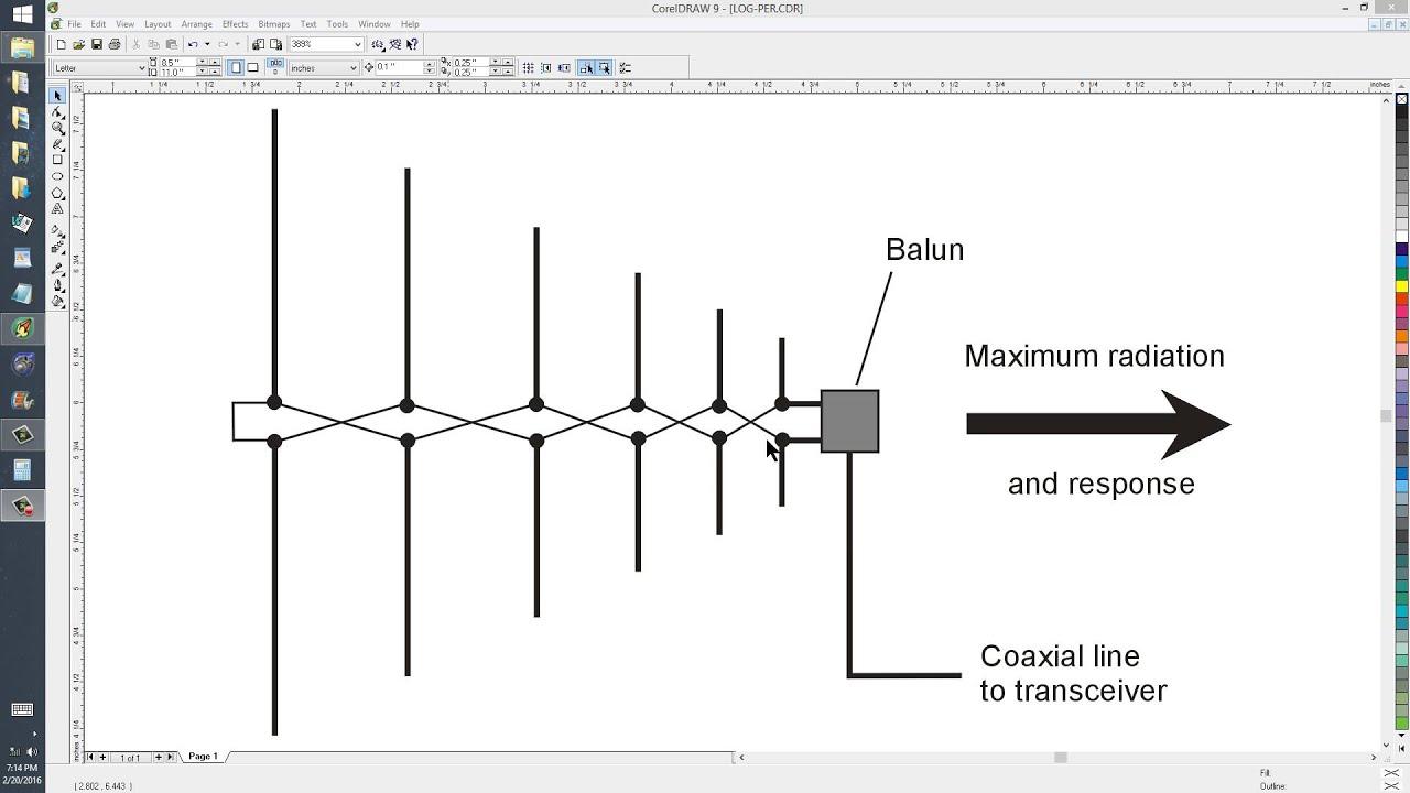 Log-Periodic Dipole Array (LPDA)