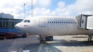 SAS A330 BUSINESS CLASS TO NEW YORK   My best flight of 2017!