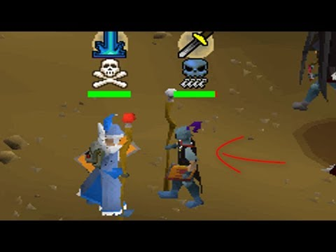 He made a big mistake trying to X-Log (Bank PK) OSRS