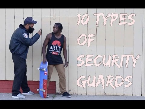 10 Types of Security Guards