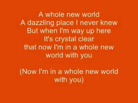 Disney - Alladin -A Whole New World