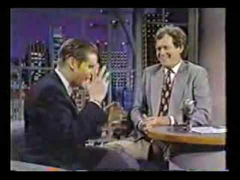 Crispin Glover on David Letterman 1990