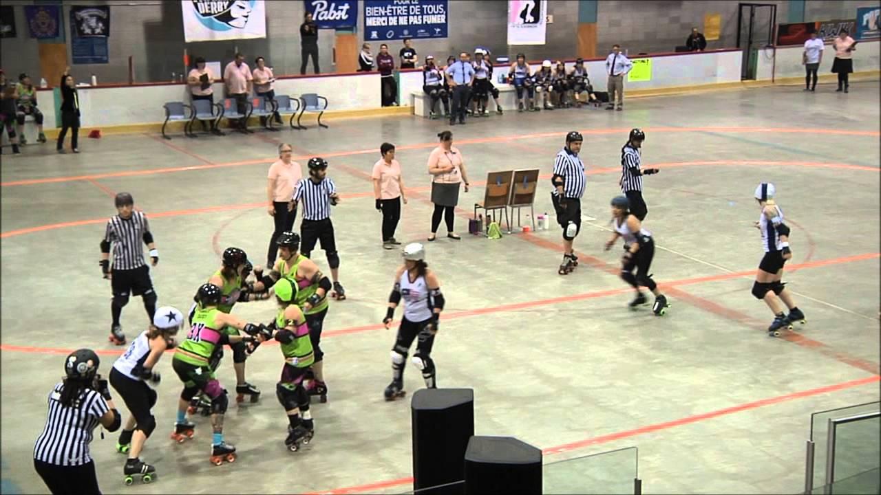 Roller skating montreal - Wftda Roller Derby 2014 Montreal Vs Boston P 1
