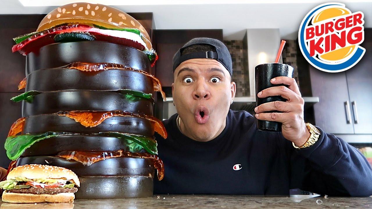 Diy Giant Gummy Burger King 200 Lbs Whopper