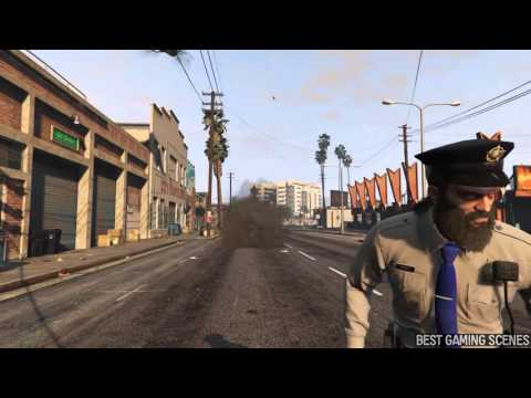 AWESOME GTA 5 FUNNY BRUTAL KILL Funny Moments Compilation Martrix Gaming