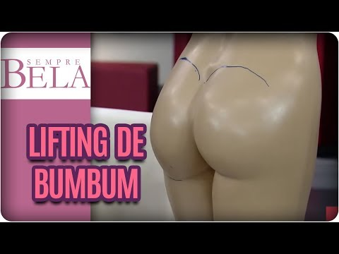 Sempre Bela, TV Gazeta - Brazilian Butt Lift ou Lifting de Bumbum