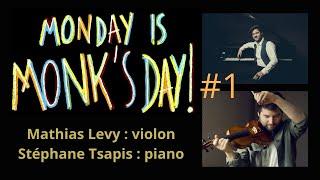 Monday is Monk's day #1 - Stéphane Tsapis & Mathias Levy
